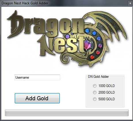 dragonnest Dragon Nest Hack: Gold Adder